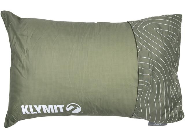 Klymit Drift Car Camp Pillow Regular, green